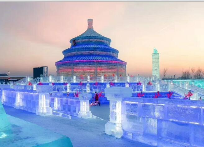 Harbin Group Day Tour to Winter Highlights Including Lunch